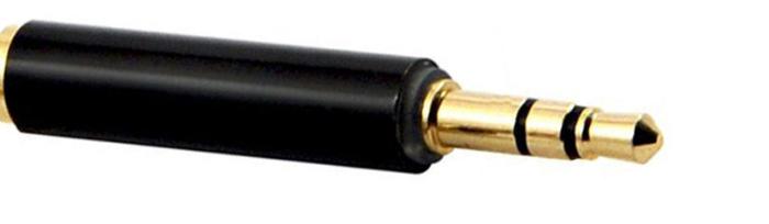 Адаптер(Перехідник) для 3,5 мм 4 pole на 3,5 мм 3 pole, фото 2