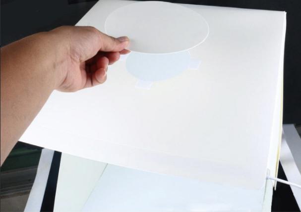 Photobox з LED підсвічуванням 40*40*40 см, фото 2