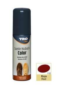 Крем-краска красная   для замши и нубука Trg Nubuck Color, 75 мл