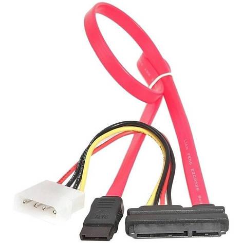 Кабель передачи данных Gembird CC-SATA-C1 комбо SATA + питание, фото 2