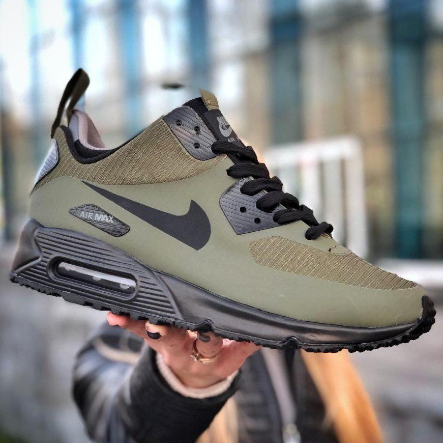 Мужские кроссовки Nike Air Max 90 Mid Winter (утепленные) - 2 цвета