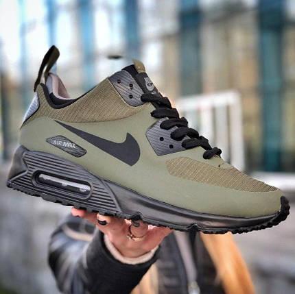 Мужские кроссовки Nike Air Max 90 Mid Winter (утепленные) - 2 цвета, фото 2