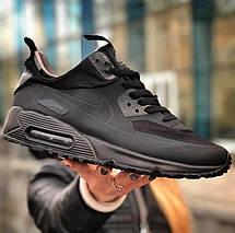 Мужские кроссовки Nike Air Max 90 Mid Winter (утепленные) - 2 цвета, фото 3