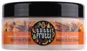 "Крем питательный для тела ""Карамель и корица"" Farmona Tutti Frutti Body Butter, 275 ml."