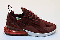 Кроссовки Nike Air Max 270 (бордовый)