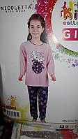 Детская новогодняя пижама для девочек.