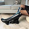 Сапоги женские зимние черные эко-кожа :) В НАЛИЧИИ ТОЛЬКО 36 38р, фото 3