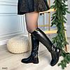 Сапоги женские зимние черные эко-кожа :) В НАЛИЧИИ ТОЛЬКО 36 38р, фото 4