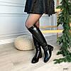 Сапоги женские зимние черные эко-кожа :) В НАЛИЧИИ ТОЛЬКО 36 38р, фото 6