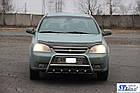 Кенгурятник Chevrolet Lacetti (02+) защита переднего бампера кенгурятники на для Шевроле Лачетти Chevrolet Lacetti (02+) d42х1,6мм, фото 3