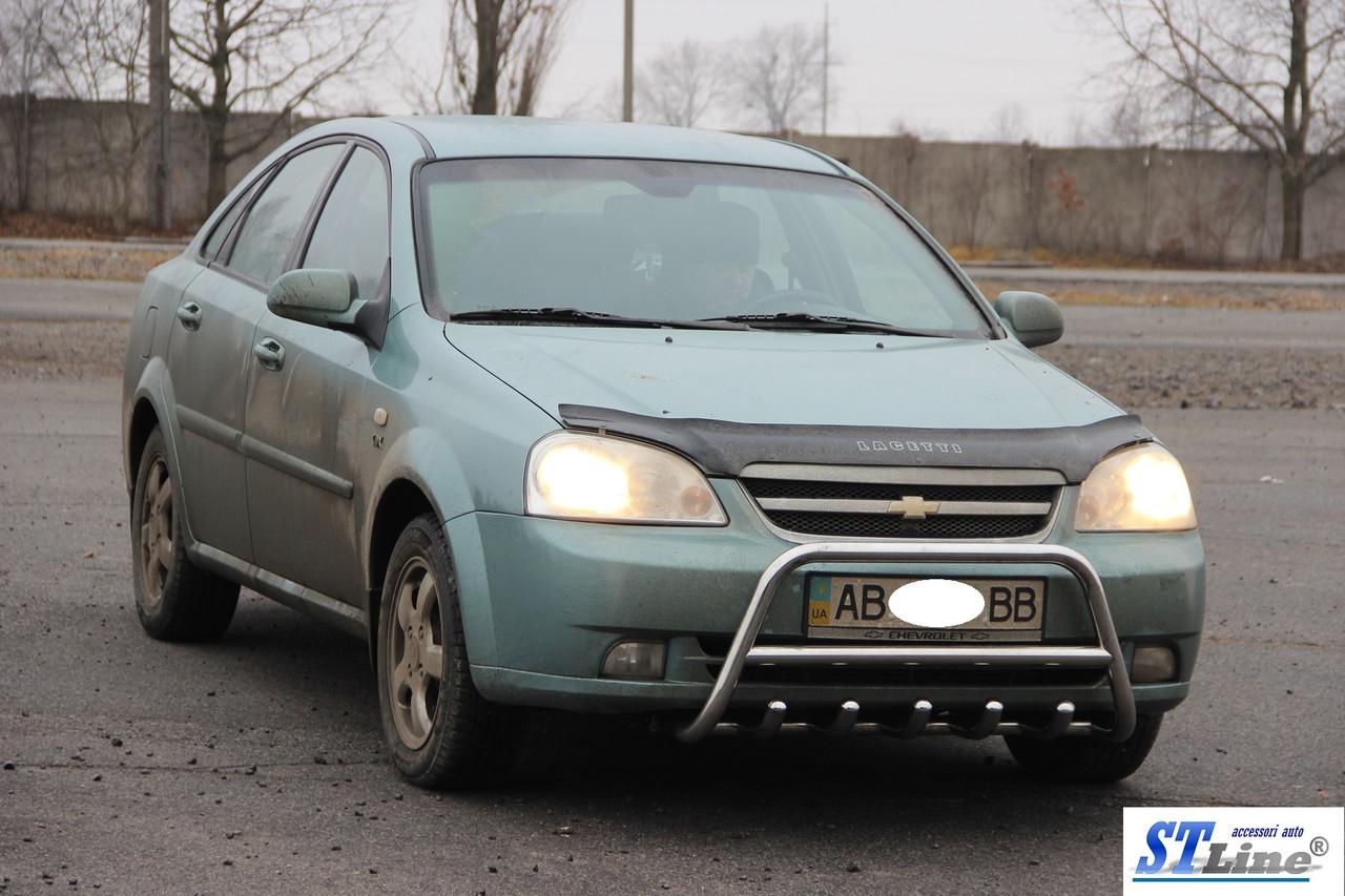 Кенгурятник Chevrolet Lacetti (02+) защита переднего бампера кенгурятники на для Шевроле Лачетти Chevrolet Lacetti (02+) d42х1,6мм