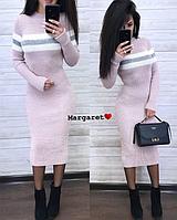 Платье-гольф женское, стильное, теплое, 1113М-4502