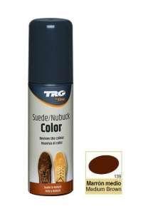 Крем-краска средне-коричневая для замши и нубука Trg Nubuck Color, 75 мл