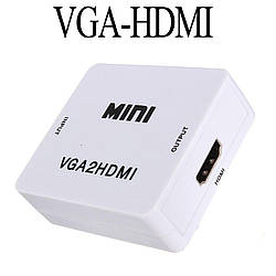 Переходник конвертер VGA2HDMI + Audio to HDMI