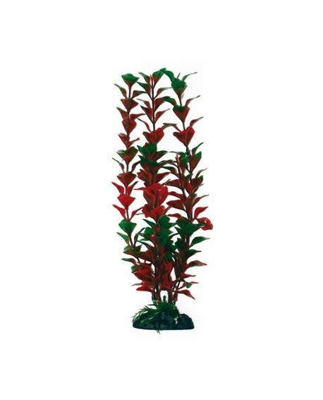 Искусственное растение для аквариума LUDWIGIA, 23 см