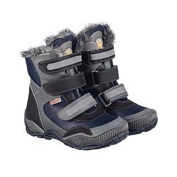 Зимние ортопедические ботинки для детей Memo Colorado 3DA Синие