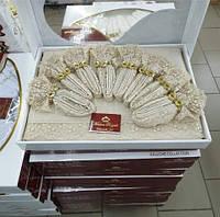 Скатертину на стіл з серветками Комільфо 160х220 КО0011