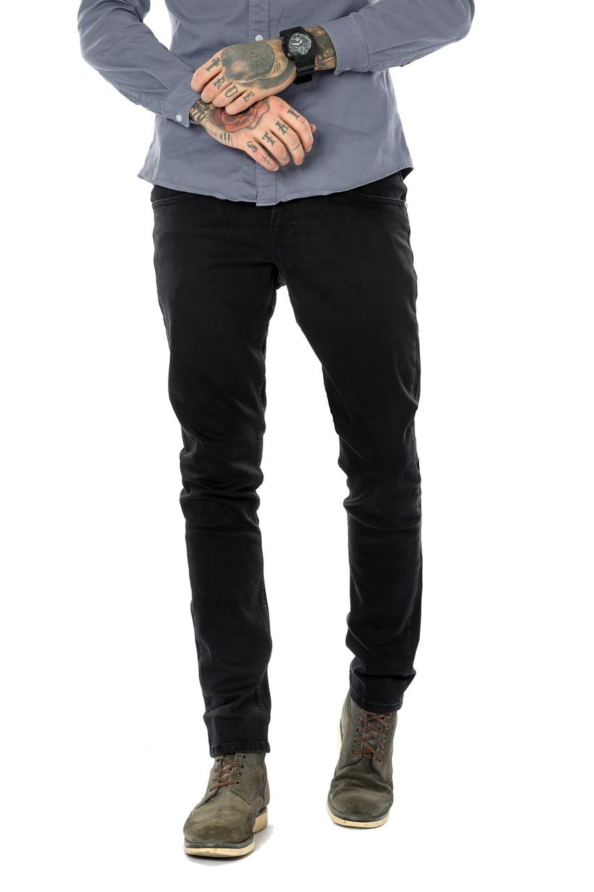 Мужские джинсы Franco Benussi 18-755 черные