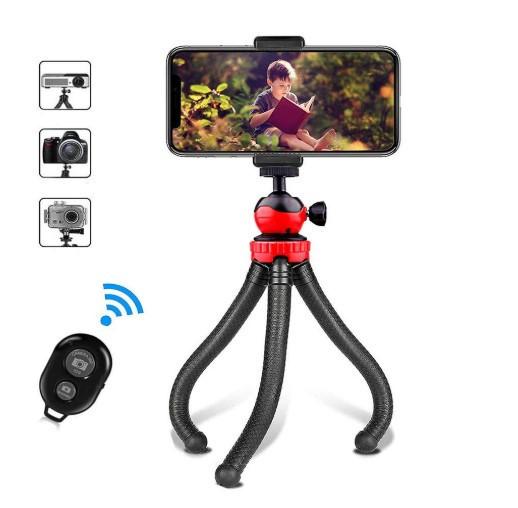 Гнучкий штатив GoProff Accss з навантаженням до 1,5 кг. +Пульт для дистанційного фотозйомки