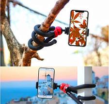 Гнучкий штатив GoProff Accss з навантаженням до 1,5 кг. +Пульт для дистанційного фотозйомки, фото 2