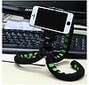 Гибкий штатив для телефона Fotopro RM-100 с максимальной нагрузкой до 800 грамм Черно-зеленый