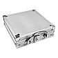 Набор для покера на 100 фишек в алюминиевом кейсе с фишками без номинала, фото 4