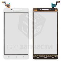 Сенсорный экран для мобильного телефона Lenovo A5000, белый