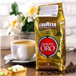 Кофе Зерновой Lavazza Qualita Oro 1 кг. 100% Арабика
