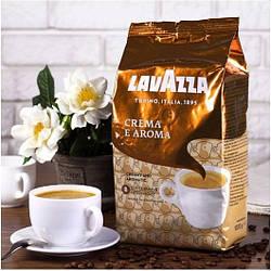 Кофе Зерновой Lavazza Crema Aroma 1 кг 60% Арабика, 40% Робуста