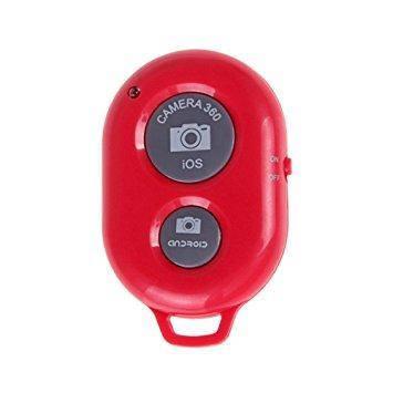 Bluetooth пульт (блютуз) для телефона, пульт для селфи Красный, фото 2