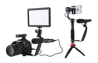 Профессиональный конденсаторный микрофон для телефона,DSLR,видеокамер  PULUZ PU3012, фото 3