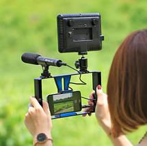Профессиональный конденсаторный микрофон для телефона,DSLR,видеокамер  PULUZ PU3012, фото 2