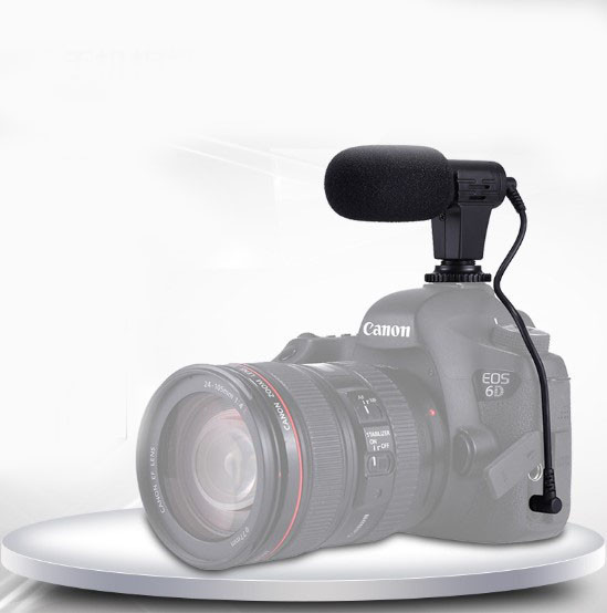 Професійний мікрофон для смартфона і фото і відео камер PULUZ PU3017
