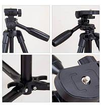 Штатив Yunteng YT-520 для смартфонов,фото и видео камер , фото 2