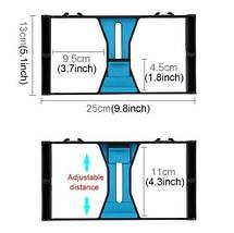 Набір блогера PULUZ PKT3021 (3в1) рамка кріплення для смартфона+башмак+LED підсвічування, фото 3