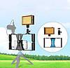 Набір блогера PULUZ PKT3021 (3в1) рамка кріплення для смартфона+башмак+LED підсвічування, фото 4