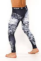 Компрессионные штаны Venum Santa Muerte Леггинсы, лосины Венум Santa Muerte, фото 1