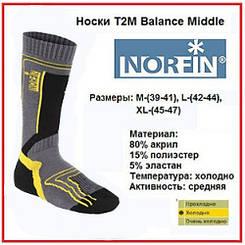 Носки Norfin BALANCE MIDLE T2M