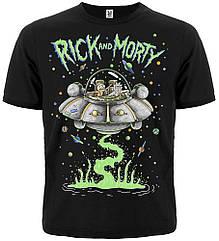 Футболка Rick and Morty (space adventure), Размер S