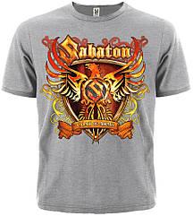 """Футболка Sabaton """"Coat of Arms"""" (меланж), Размер S"""