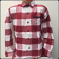 Кашемировая рубашка для мальчика 5-9 лет, опт.