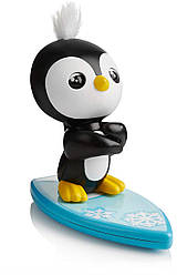 Интерактивный пингвин Такс серфер  Оригинал WowWee Fingerlings Baby Penguin - Tux