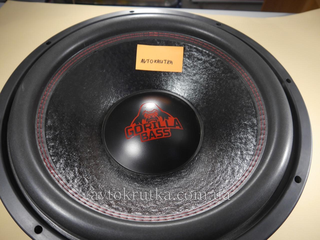 Сабвуфер Kicx Gorilla Bass E15. Пассивный