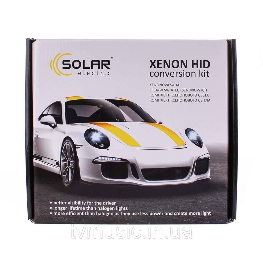 Комплект ксенона SOLAR H7 6000K 35W Ballast 4760
