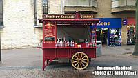 Эксклюзивный торговый стенд для уличной еды и хот догов  (ТТС-4), фото 1
