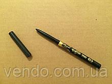 Черный механический карандаш для глаз и бровей Kylie