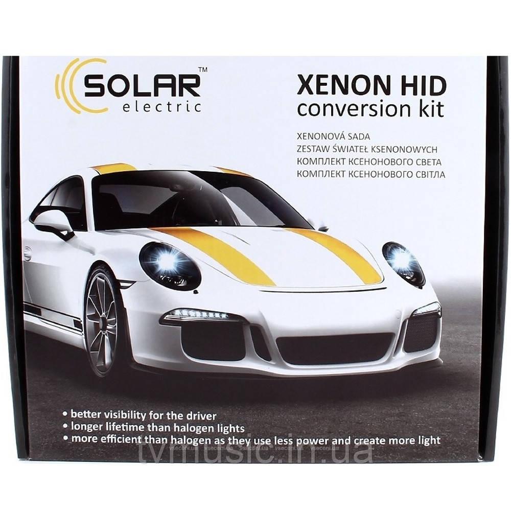 Комплект ксенона SOLAR H8 5000K 35W Ballast 4850