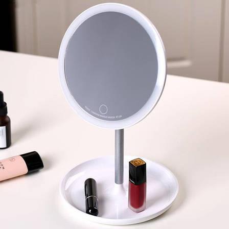 Зеркало для макияжа с подсветкой настольное Remax Charming Beauty Makeup Mirror, фото 2