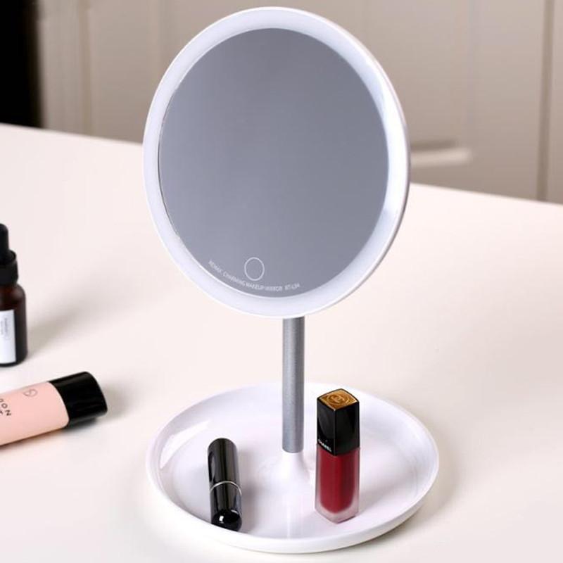 Зеркало для макияжа с подсветкой настольное Remax Charming Beauty Makeup Mirror