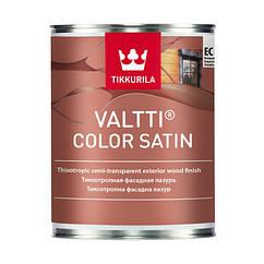 Тиксотропная фасадная лазурь Tikkurila Valtti Color Satin 0.9л